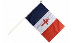 France libre 1940-43 - Croix de Lorraine Hand Waving Flag