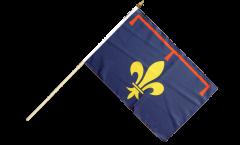 France Provence Hand Waving Flag