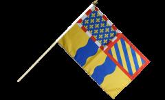 France Saône-et-Loire Hand Waving Flag - 12 x 18 inch