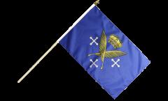 France Saint-Étienne Hand Waving Flag - 12 x 18 inch