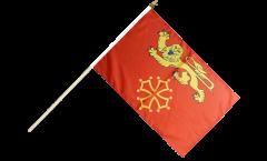 France Tarn-et-Garonne Hand Waving Flag