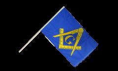Freemason Hand Waving Flag - 2 x 3 ft.