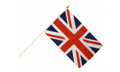 Great Britain Hand Waving Flag - 12 x 18 inch
