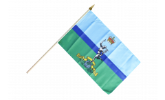 Great Britain British Army Royal Corps of Signals Hand Waving Flag - 12 x 18 inch
