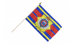 Great Britain British Army Royal Logistic Corps Hand Waving Flag - 12 x 18 inch
