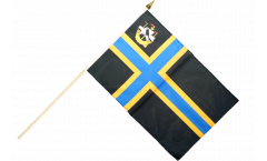 Great Britain Caithness Hand Waving Flag - 12 x 18 inch
