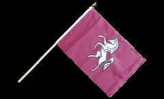 Great Britain Kent Hand Waving Flag - 12 x 18 inch
