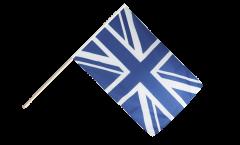Great Britain Union Jack blue Hand Waving Flag - 2 x 3 ft.