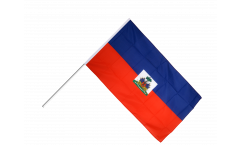 Haiti Hand Waving Flag
