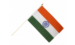 India Hand Waving Flag - 12 x 18 inch