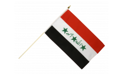 Iraq old 1991-2004 Hand Waving Flag - 12 x 18 inch