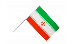 Iran Hand Waving Flag