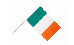 Ireland Hand Waving Flag