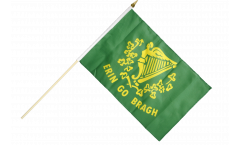 Ireland Erin Go Bragh Hand Waving Flag