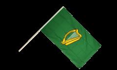 Ireland Leinster Hand Waving Flag