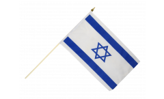 Israel Hand Waving Flag - 12 x 18 inch
