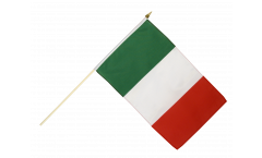 Italy Hand Waving Flag - 12 x 18 inch