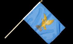 Italy Fiuli-Venezia Giulia Hand Waving Flag - 12 x 18 inch