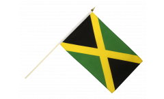 Jamaica Hand Waving Flag
