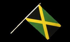Jamaica Hand Waving Flag - 12 x 18 inch