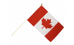 Canada Hand Waving Flag - 12 x 18 inch