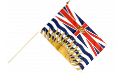Canada British Columbia Hand Waving Flag