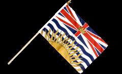 Canada British Columbia Hand Waving Flag - 12 x 18 inch