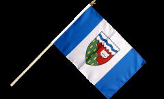 Canada Northwest Territories Hand Waving Flag - 12 x 18 inch
