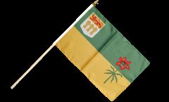 Canada Saskatchewan Hand Waving Flag - 12 x 18 inch