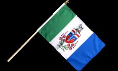 Canada Yukon Hand Waving Flag - 12 x 18 inch