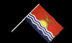 Kiribati Hand Waving Flag