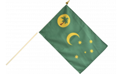 Cocos (Keeling) Islands Hand Waving Flag - 12 x 18 inch