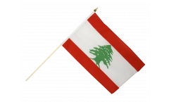 Lebanon Hand Waving Flag