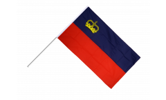 Liechtenstein Hand Waving Flag