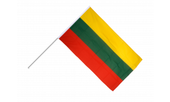 Lithuania Hand Waving Flag