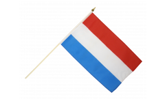 Luxembourg Hand Waving Flag - 12 x 18 inch
