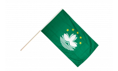 Macao Macau Hand Waving Flag - 2 x 3 ft.