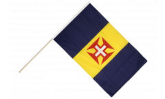 Madeira Hand Waving Flag - 2 x 3 ft.