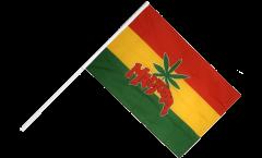 Marijuana Hand Waving Flag - 2 x 3 ft.