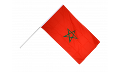 Morocco Hand Waving Flag