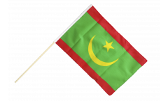 Mauritania Hand Waving Flag