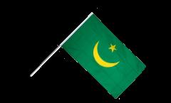 Mauritania 1959-2017 Hand Waving Flag