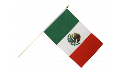 Mexico Hand Waving Flag - 12 x 18 inch