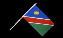 Namibia Hand Waving Flag - 12 x 18 inch
