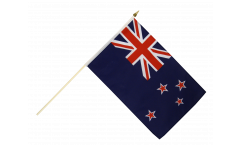 New Zealand Hand Waving Flag - 12 x 18 inch