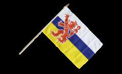 Netherlands Limbourg Hand Waving Flag - 12 x 18 inch
