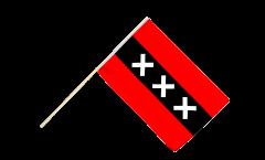 Netherlands Amsterdam Hand Waving Flag