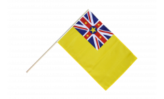 Niue Hand Waving Flag