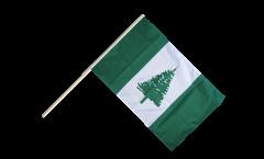 Norfolk Islands Hand Waving Flag