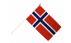 Norway Hand Waving Flag - 12 x 18 inch